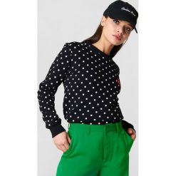 Bluzy damskie: Colourful Rebel Bluza Dots n Lips – Black,Multicolor