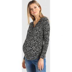 Bluzki asymetryczne: bellybutton STILL Bluzka z długim rękawem black