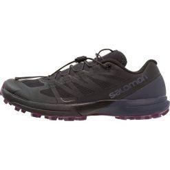 Salomon SENSE PRO 3 Obuwie do biegania Szlak black. Czarne buty do biegania damskie Salomon, z gumy. Za 589,00 zł.