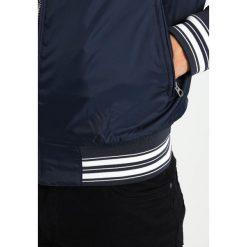 T-shirty męskie: Schott NYC Kurtka wiosenna navy