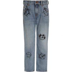 Jeansy dziewczęce: Scotch Shrunk FELIX AMS BLAUW DEAN  Jeansy Straight Leg blue denim