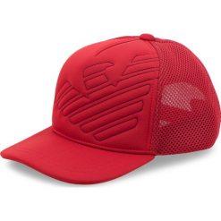 Czapka z daszkiem EMPORIO ARMANI - 404569 8A526 04276  Red Dark. Czerwone czapki z daszkiem męskie marki Emporio Armani, z elastanu. Za 269,00 zł.