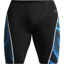 Speedo SPEEDFIT GRAPHIC JAM  Kąpielówki black/danube. Czarne kąpielówki męskie marki Speedo, z materiału. W wyprzedaży za 151,20 zł.