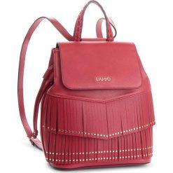 Plecak LIU JO - M Backpack Brera N68194 E0031 Red 91656. Czerwone plecaki damskie Liu Jo, ze skóry ekologicznej, eleganckie. Za 649,00 zł.
