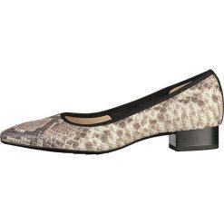 Buty ślubne damskie: Czółenka w kolorze szarobrązowym