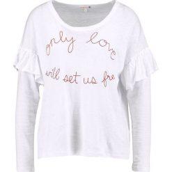 Bluzki asymetryczne: Sundry RUFFLE STARS Bluzka z długim rękawem white