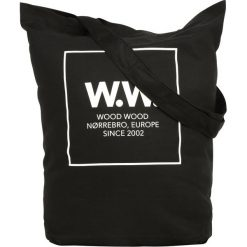 Shopper bag damskie: Wood Wood DESI TOTEBAG Torba na zakupy black