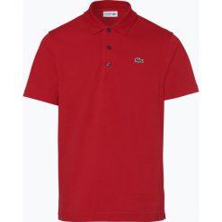 Lacoste - Męska koszulka polo, czerwony. Czerwone koszulki polo Lacoste, l, z aplikacjami. Za 349,95 zł.