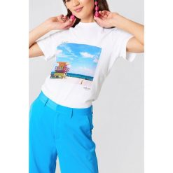T-shirty damskie: Just Female T-shirt This Way – White,Multicolor