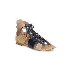 Sandały John Galliano  AN6379. Niebieskie sandały damskie marki John Galliano. Za 2141,30 zł.
