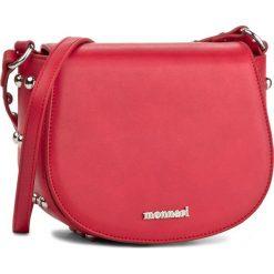 Torebka MONNARI - BAG2550-005 Red. Czerwone listonoszki damskie marki Monnari, ze skóry ekologicznej. W wyprzedaży za 119,00 zł.