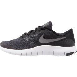 Nike Performance FLEX CONTACT Obuwie do biegania treningowe black/dark grey/anthracite/white. Czarne buty sportowe chłopięce Nike Performance, z materiału. Za 249,00 zł.