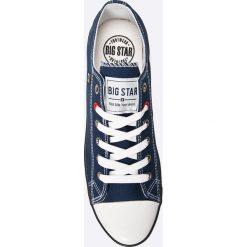 Big Star - Tenisówki. Szare tenisówki męskie BIG STAR, z materiału, na sznurówki. Za 79,90 zł.