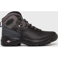Grisport - Buty. Czarne buty trekkingowe męskie Grisport, na zimę, z gumy, na sznurówki, outdoorowe. Za 299,90 zł.