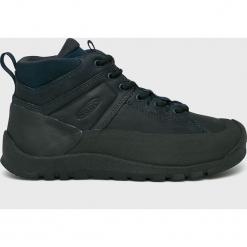 Keen - Buty. Czarne buty trekkingowe męskie marki Keen, z materiału, na sznurówki, outdoorowe. Za 499,90 zł.