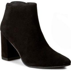 Botki VAGABOND - Saida 4219-040-20 Black. Czarne buty zimowe damskie marki Vagabond, z materiału. W wyprzedaży za 319,00 zł.