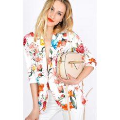 Odzież damska: Narzutka żakiet w kwiaty