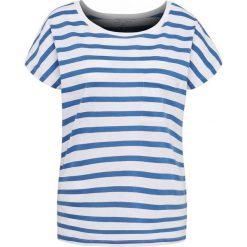 Marie Lund - T-shirt damski, niebieski. Niebieskie t-shirty damskie Marie Lund, m, w paski, z bawełny. Za 39,95 zł.
