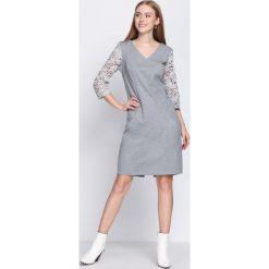 Sukienki: Jasnoszara Sukienka For My Heart