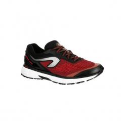 Buty do biegania KIPRUN LONG męskie. Czerwone buty do biegania męskie marki KALENJI, z gumy. Za 249,99 zł.