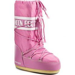 Śniegowce MOON BOOT - Nylon 14004400063 Rosa D. Czerwone buty zimowe damskie Moon Boot, z materiału. Za 359,00 zł.