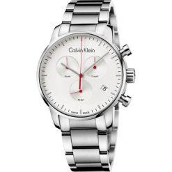 ZEGAREK CALVIN KLEIN CITY CHRONO K2G271Z6. Szare zegarki męskie marki Calvin Klein, szklane. Za 1409,00 zł.