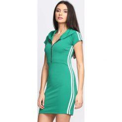 Zielona Sukienka Love Thang. Zielone sukienki dzianinowe marki Born2be, na lato, s. Za 74,99 zł.