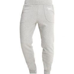 Jack Wills HARWICK SLIM Spodnie treningowe mottled grey. Szare rurki męskie Jack Wills, z bawełny. Za 239,00 zł.