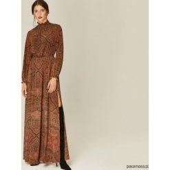 Sukienki: Sukienka Tess brązowy