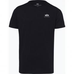 Alpha Industries - T-shirt męski, niebieski. Niebieskie t-shirty męskie z nadrukiem Alpha Industries, m, z dżerseju. Za 89,95 zł.