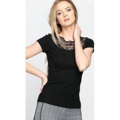 Bluzki asymetryczne: Czarna Bluzka Academy of Elegance