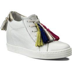Sneakersy R.POLAŃSKI - 0883 Biały Lico. Białe sneakersy damskie R.Polański, ze skóry. W wyprzedaży za 299,00 zł.