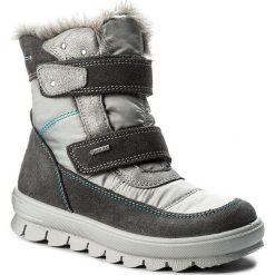 Kozaki dziewczęce: Śniegowce SUPERFIT – GORE-TEX 1-00214-06 S Stone Kombi