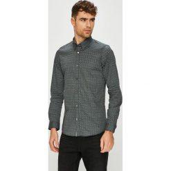 Tom Tailor Denim - Koszula. Szare koszule męskie na spinki marki S.Oliver, l, z bawełny, z włoskim kołnierzykiem, z długim rękawem. Za 219,90 zł.