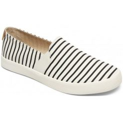 Tenisówki damskie: Roxy Tenisówki Slip-On Damskie Atlanta Ii J Shoe Tst, White/Stripe 38