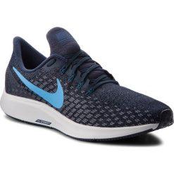 Buty NIKE - Air Zoom Pegasus 35 942851 401 Obsidian/Blue Hero/Gunsmoke. Niebieskie buty do biegania męskie Nike, z materiału, nike zoom. W wyprzedaży za 349,00 zł.