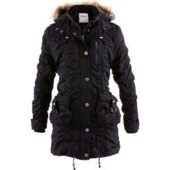 Płaszcz zimowy bonprix czarny. Czarne płaszcze damskie pastelowe bonprix, na zimę. Za 269,99 zł.