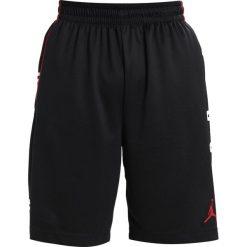 Bermudy męskie: Jordan RISE GRAPHIC SHORT Krótkie spodenki sportowe black/black/gym red/gym red
