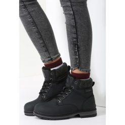 Czarne Traperki Tighten Up. Czarne buty zimowe damskie vices. Za 99,99 zł.