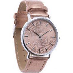 Ciemnobeżowy Zegarek Commonplace. Brązowe zegarki damskie Born2be. Za 24,99 zł.