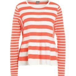 FTC Cashmere Sweter vibrant orange. Brązowe swetry klasyczne damskie FTC Cashmere, s, z kaszmiru. W wyprzedaży za 413,70 zł.