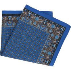 Poszetki męskie: poszetka special niebieski 206
