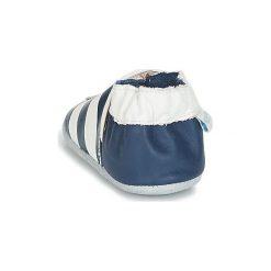 Kapcie niemowlęce Dziecko  Robeez  ON THE SEA. Niebieskie kapcie chłopięce Robeez. Za 104,30 zł.