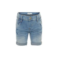 Spodenki chłopięce: name it Boys Szorty Sofus light blue denim