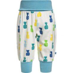 Chinosy chłopięce: Småfolk BABY WAISTBAND PANTS WITH PINEAPPLE Spodnie materiałowe strong blue