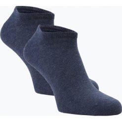 Tommy Hilfiger - Męskie skarpety do obuwia sportowego pakowane po 2 szt., niebieski. Niebieskie skarpetki męskie marki TOMMY HILFIGER, z bawełny. Za 49,95 zł.