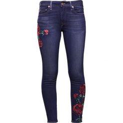Jeansy damskie: True Religion JENNI ROSES Jeans Skinny Fit dark blue