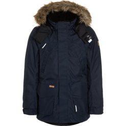 Reima REIMATEC JACKET SERKKU Kurtka puchowa navy. Niebieskie kurtki dziewczęce puchowe marki Reima, na zimę, z materiału. W wyprzedaży za 575,20 zł.