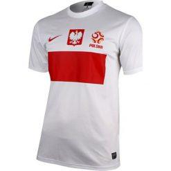 Koszulki sportowe męskie: Nike Koszulka męska Polska Replika biała r. XXL (450510 105)