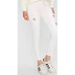 Liu Jo - Jeansy PANTS. Białe jeansy damskie marki Liu Jo, z bawełny. Za 859,90 zł.
